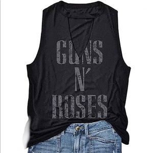 Guns N Roses Sleeveless T-shirt Tank Top